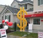 Dollar DaysAttract customers with our giant sculptures...Custom designs are our specialty. Click To Zoom