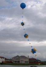 Giant Balloon with Deco Line*Grab Attention with our giantic balloon displays! Click To Zoom