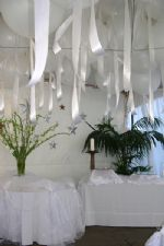 White Wedding RibbonsAdd illuminated balloons to your tent event to create an incredibly magical evening... Click To Zoom