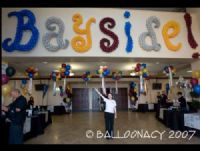 Custom Lettering and FontsThese 8 foot high letters come in all fonts, colors and sizes.  Ask about putting your company name in lights. Balloon numbers, balloon letters, words in balloons. Balloon sculptures, bouquets and arrangements delivered to Sacramento and surrounding areas. Click To Zoom