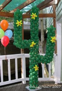CactusMake your Fiesta first rate with this illuminated cactus! Cactus with flowers, desert balloon art, Cinco de Mayo, fiesta party.  Click To Zoom