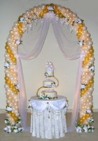 Classic Wedding ArchOur Classic Wedding Arch, simply beautiful.  Add silk flowers, tulle and illumination as shown for classical elegance! Arches, weddings, anniversaries, anniversary, 50th. Click To Zoom
