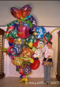Crazy BouquetPick all your balloons and customize every one of our bouquets!  We deliver to Sacramento and surrounding areas. Click To Zoom