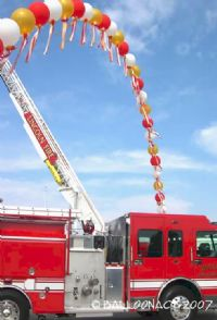 Lincoln Fire DepartmentGrand Openings and Special Events are our specialty, call for details! Ask about Balloonacy's famous