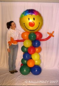 Party PalNeed a greeter or a friend?  This one can hold any message foil balloon...love, birthday, get well, or just to cheer, this Pal will be the hit of the day! Click To Zoom