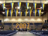 UC DavisFill a large space quickly with our giant sculptures!  Graduation numbers, UC Davis. Click To Zoom